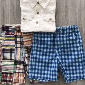 Like New Baby Gap Size 4 Years Shirt and 2 Shorts